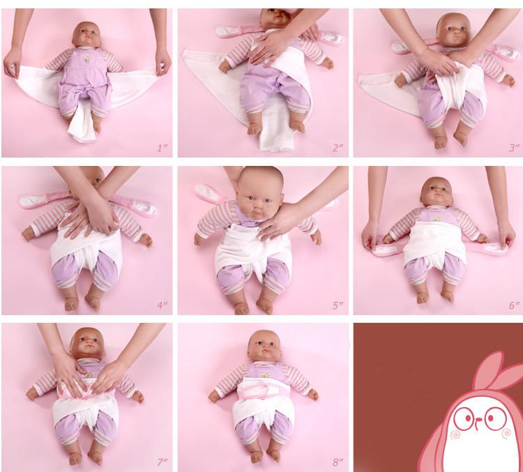 Как сделать подгузник из марли новорожденному 730
