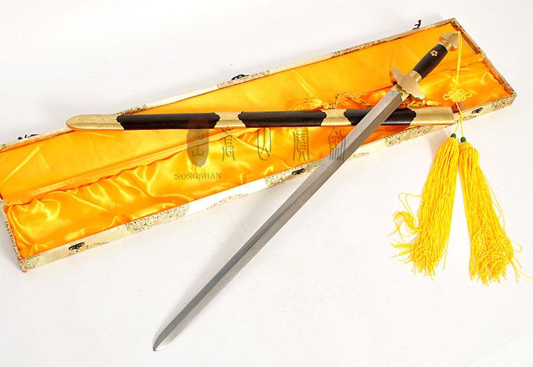 花纹钢硬剑男女不锈钢软剑晨练表演剑