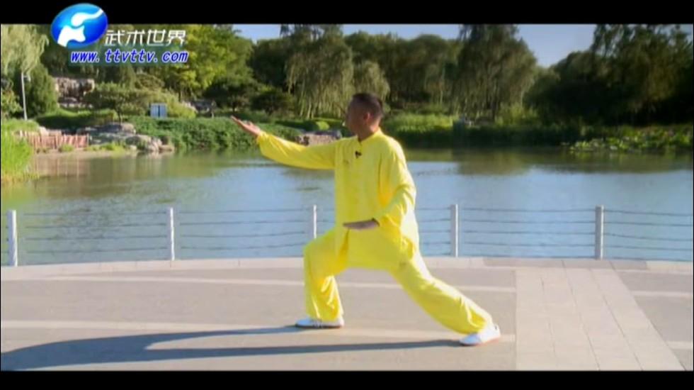 武术世界频道首推《简化24式太极拳》新版_二十四式太极拳视频教程_DVD光盘