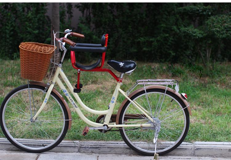 新款自行车儿童座椅 山地折叠单车前置座椅 电动车宝宝安全座椅